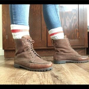 Cole Hann lace up boots